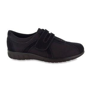 Munro Sport Jewel Black Suede Sneakers 12M